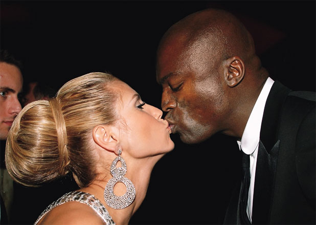 heidi klum and seal photo shoot. Heidi Klum and Seal